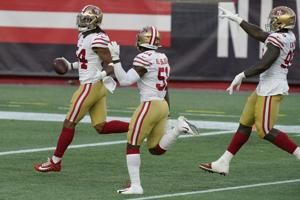 Do-everything LB Fred Warner helps stead banged-up 49ers D