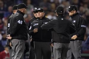 Miller, Meals serve as umpire crew chiefs in LCS