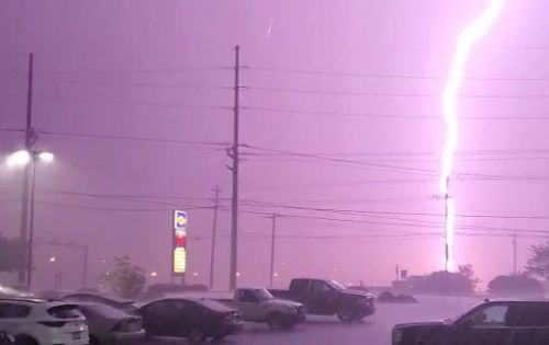 Severe weather hits Cincinnati Friday causing damage; heavy rain expected overnight into morning