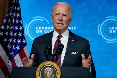 Biden announces US greenhouse gas emissions goal, cites 'moral imperative'