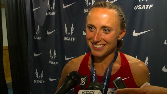Banned runner Shelby Houlihan allowed to race at US trials pending appeals