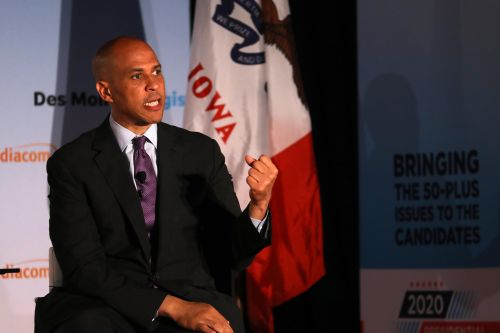 Booker says he felt disrespected in his verbal tussle with Biden