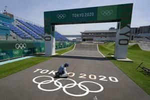 Olympic cyclists enjoy natural COVID-19 bubble outside Tokyo