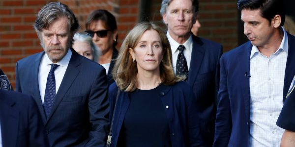 Felicity Huffman has started her 2-week prison sentence in a cushy northern California facility