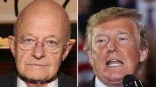 James Clapper: Donald Trump May Be A Russian Asset 'Whether Witting Or Unwitting'