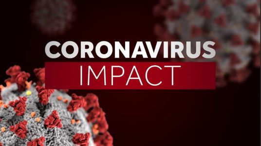 Map of Pennsylvania shows the number of coronavirus cases county-by-county