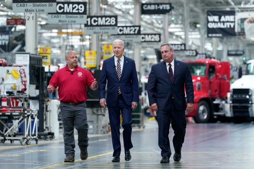 President Biden makes pitch to working class with new 'buy American' efforts