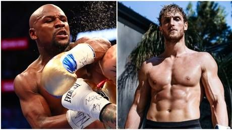Not Paul over: Floyd Mayweather vs Logan Paul 'rebooked for June 5' - as fans still claim fight 'is utter stupidity'