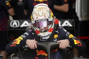 Red Bull's Perez fastest before US. Grand Prix qualifying