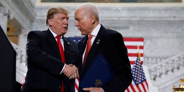 Trump and Sen. Orrin Hatch announce American hostage returning to US from Venezuela