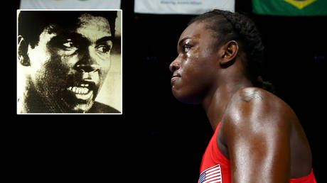 '98% of men in the world can't beat me': Claressa Shields declares she's the second greatest boxer of all time behind Muhammad Ali