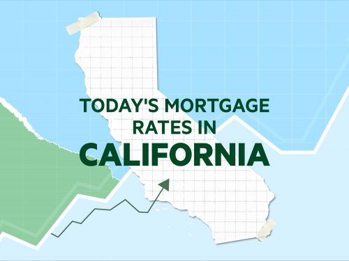 Today's mortgage and refinance rates in California