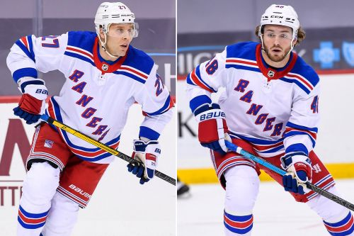 Rangers benching Jack Johnson, Brendan Lemieux against Penguins