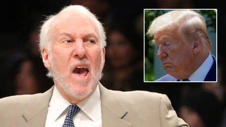 'I'm all for it': Five-time NBA champ Gregg Popovich hails Trump impeachment before blaming 'wack jobs' and 'conspiracy theorists'