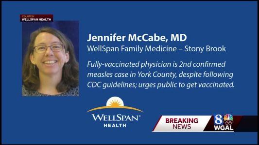 Second measles case in York County is a doctor