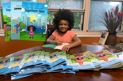 5-year-old becomes author after pandemic shutters library