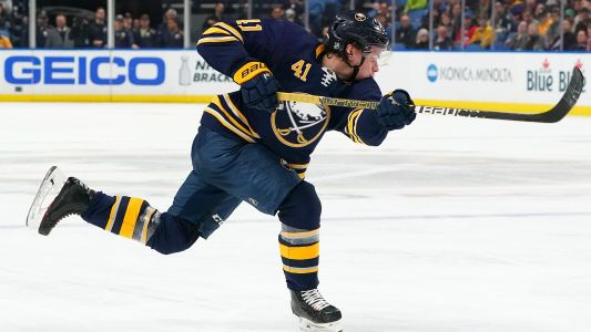 Buffalo Sabres' Victor Olofsson sets rookie power play scoring record