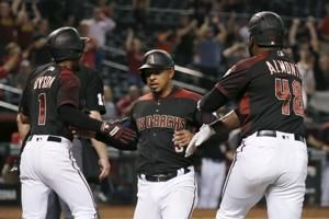 Ray dominant, D-backs rally for 7-5 win over Marlins