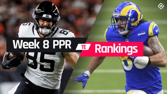 Fantasy TE PPR Rankings Week 8: Who to start, sit at tight end in fantasy football