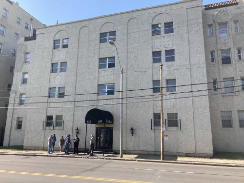 Police investigating suspicious death after man's body found in apartment stairwell