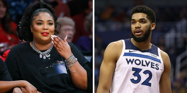 Lizzo revealed her interest in Karl-Anthony Towns during a courtside interview at the Lakers-Timberwolves game