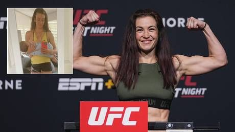 'Boobs fix everything': UFC mom Miesha Tate shares breastfeeding pic after triumphant return to octagon
