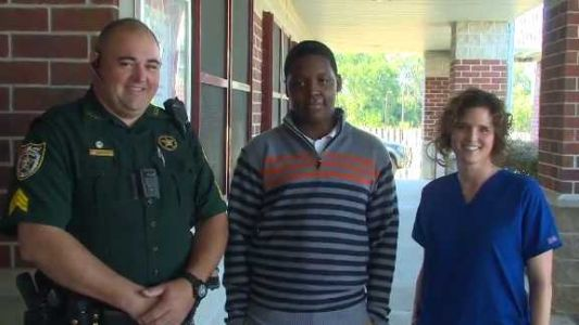 'He's a walking miracle': School resource officer, nurse save teen after his heart stopped