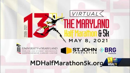 The annual UMMS Maryland half marathon and 5k goes virtual