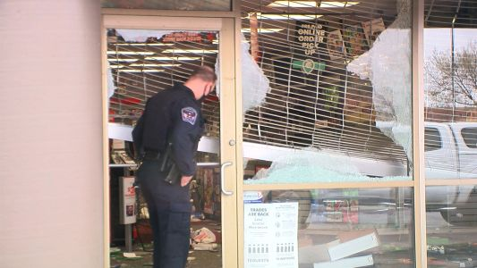 'Here We Go Again': Businesses Clean Up After Night Of Destruction Following Daunte Wright Killing