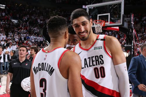 Enes Kanter taunts Knicks, entire NBA after Trail Blazers' victory