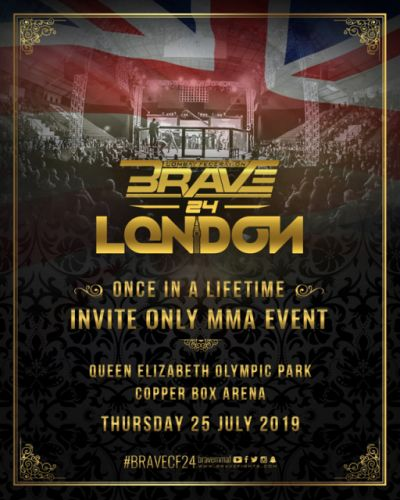Brave CF heads to England for invitation-only event at London's Olympic Park