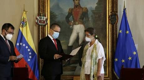 72 hours to leave: EU envoy to Venezuela told to pack her bags after Brussels brings new sanctions over elections & rights abuses