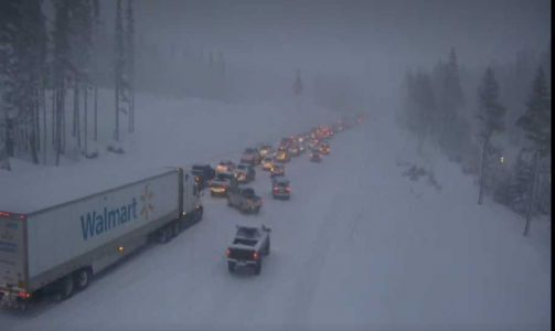 Spinout snarls eastbound I-80 traffic in Truckee, CHP says