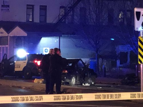 Five hurt, including officer, in Milwaukee police chase and crash