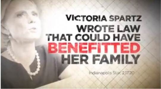WATCH: New DCCC TV Ad in IN-05 Slams Victoria Spartz for Cashing In at the Expense of Hoosier Families