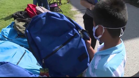 KCPD's Police Athletic League hosts back-to-school event