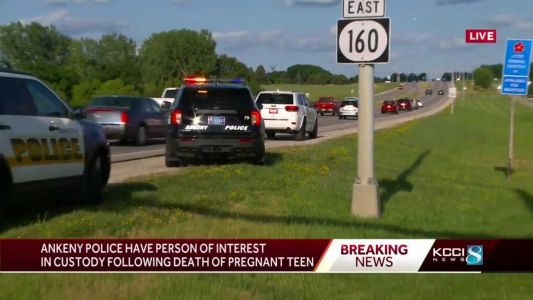 Ankeny police locate material witness in shooting death of pregnant teen