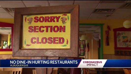 ABQ restaurant struggles to get by, lays off 150 employees