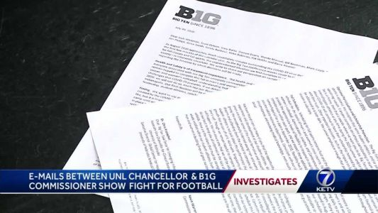 'There is considerable pressure here': Emails between Huskers, B1G commissioner shows fight for football