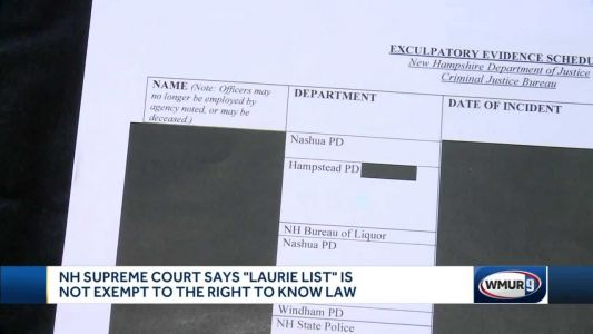 NH Supreme Court rules 'Laurie List' not exempt from right-to-know law