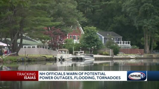 Flash flooding possible as Isaias moves into NH