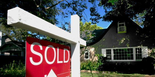 Applications to purchase a home are 18% higher than a year ago as buyers rush back to the market