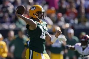 Packers taking early command of NFC North race again