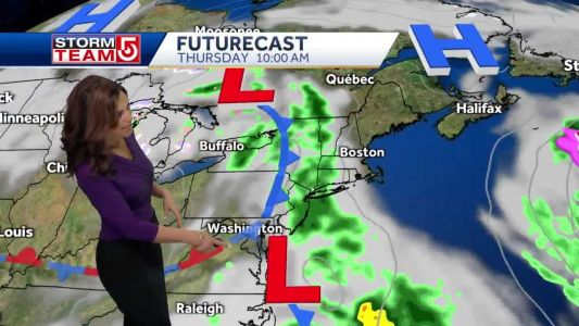 Video: Sunny day with temps in 50s
