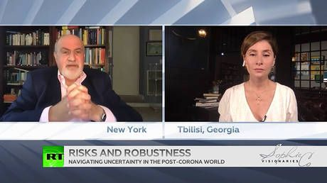 Covid-19 pandemic will 'bring socialism to US' and transform the world - Nassim Taleb to RT