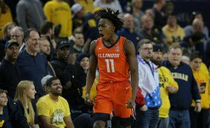Ayo Dosunmu lifts Illinois over Michigan 64-62