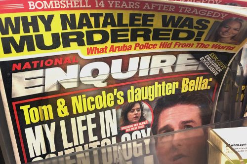 Who will emerge as the National Enquirer's editor after its sale?