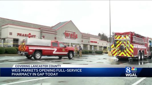 UPDATE: Gap Weis opening pharmacy after fire damaged main store