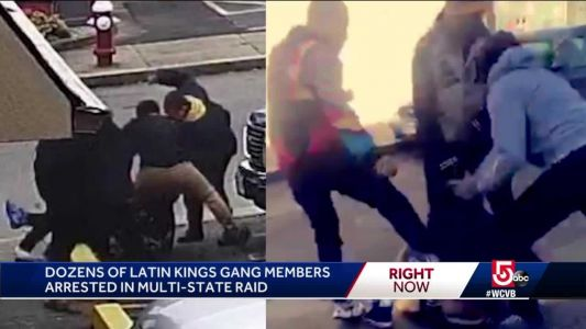 Dozens of Latin Kings arrested in federal sweep
