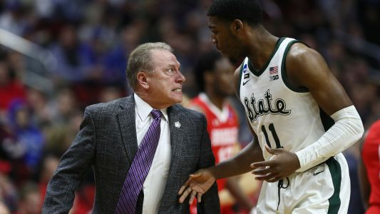 Michigan State's Tom Izzo explains heated interaction with Aaron Henry